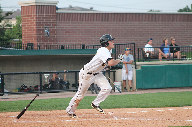 Gasser Reaches Base Six Times, Delivers Go-Ahead Hit as Oilmen Sweep Zephyrs