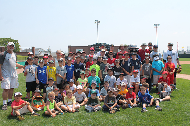 Kids Gain Valuable Instruction During Annual Ron Kittle Camp
