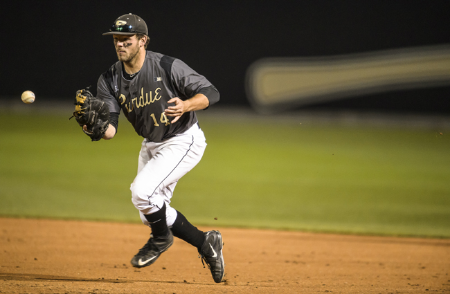Former Oilmen first baseman wins Purdue Triple Crown