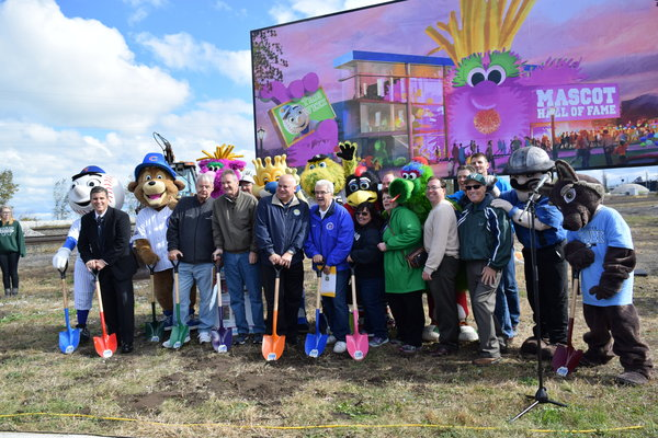 Mascot Hall of Fame Ground Breaks in Whiting Friday